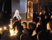 Слово Святейшего Патриарха Кирилла после великого повечерия в четверг первой седмицы Великого поста