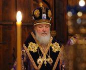 В канун дня памяти обретения главы Иоанна Предтечи Святейший Патриарх Кирилл совершил полиелейную утреню в Сретенском ставропигиальном монастыре