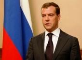 Президент России Д.А. Медведев поздравил Святейшего Патриарха Кирилла с 35-летием архиерейской хиротонии