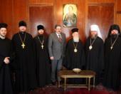 Константинопольский Патриарх принял делегацию Русской Православной Церкви