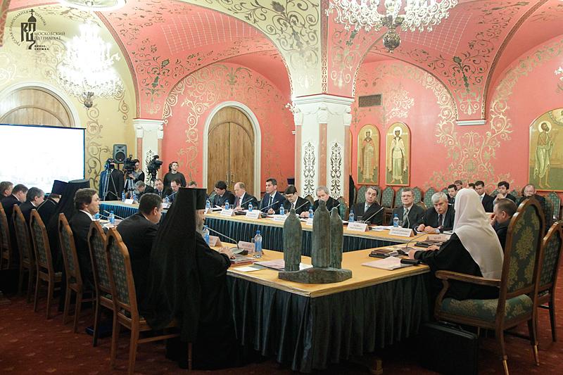 Заседание рабочей группы при Президенте России по подготовке к празднованию 700-летия со дня рождения преподобного Сергия Радонежского