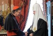 Святейший Патриарх Кирилл встретился с председателем Папского совета по содействию христианскому единству