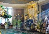 В день памяти святого благоверного князя Даниила Московского Предстоятель Русской Церкви совершил Литургию Преждеосвященных Даров в Свято-Даниловом монастыре