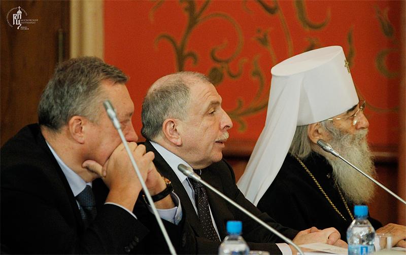 Заседание Общественно-попечительского совета Кронштадтского Морского собора