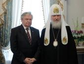 Святейший Патриарх Кирилл встретился с председателем Российского детского фонда А.А. Лихановым