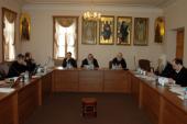 Митрополит Минский и Слуцкий Филарет возглавил работу первого в 2011 году заседания комиссии Межсоборного присутствия по вопросам богословия