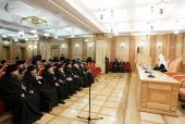 Святейший Патриарх Кирилл возглавил работу расширенного заседания Епархиального совета города Москвы