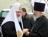 Святейший Патриарх Кирилл поздравил протоиерея Владимира Воробьева с 70-летием со дня рождения
