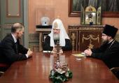 Состоялась встреча Святейшего Патриарха Кирилла с послом Польши Войцехом Зайончковски