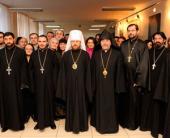 Председатель Отдела внешних церковных связей встретился с представителями армянской общины в Москве