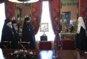 Предстоятель Русской Православной Церкви вручил указы о назначении правящим архиереям новообразованных епархий Северного Кавказа