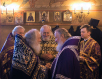 Патриаршее служение в Спасо-Преображенском храме на Болвановке в пятницу 4-й седмицы Великого поста