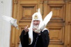 Патриаршее служение в Благовещенском соборе Кремля в праздник Благовещения Пресвятой Богородицы