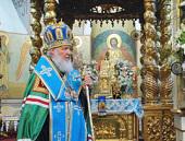 Проповедь Предстоятеля Русской Церкви после молебна у мощей святителя Тихона, Патриарха Всероссийского