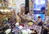 Предстоятель Русской Церкви возглавил хиротонию архимандрита Артемия (Снигура) во епископа Петропавловского и Камчатского