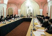 Святейший Патриарх Кирилл возглавил первое заседание Высшего Церковного Совета Русской Православной Церкви