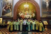 К празднику Святой Пасхи Святейший Патриарх Кирилл удостоил богослужебных наград ряд клириков г. Москвы