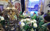 Предстоятель Русской Церкви возглавил хиротонию архимандрита Николая (Чашина) во епископа Звенигородского, викария Московской епархии