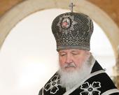 Слово Святейшего Патриарха Кирилла после Литургии Преждеосвященных Даров в Великий вторник