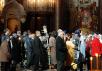 Патриаршее служение в Храме Христа Спасителя в Великую среду