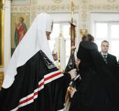 Слово Святейшего Патриарха Кирилла после утрени Великого четверга в Крестовоздвиженском Иерусалимском ставропигиальном женском монастыре
