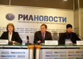 Участники брифинга в РИА «Новости» рассказали о проведении в России выставки «Святая Русь»