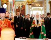 Святейший Патриарх Кирилл совершил Пасхальный молебен в зоне отчуждения Чернобыльской АЭС
