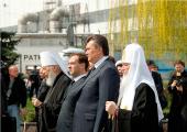 С 25 по 27 апреля состоялся визит Святейшего Патриарха Кирилла на Украину