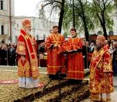 Слово Святейшего Патриарха Кирилла в среду Светлой седмицы после Божественной литургии в Киево-Печерской лавре