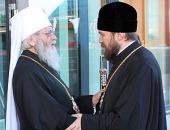 Началась поездка митрополита Волоколамского Илариона в Таллин