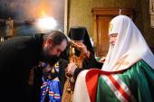 Предстоятель Русской Церкви возглавил чин наречения архимандрита Германа (Камалова) во епископа Ейского, викария Екатеринодарской епархии