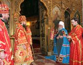 Митрополит Волоколамский Иларион совершил Божественную литургию в Александро-Невском соборе Таллина