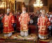 В Москве состоялись торжества по случаю 70-летия со дня рождения ректора Свято-Тихоновского университета протоиерея Владимира Воробьева