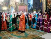 Слово Святейшего Патриарха Кирилла при вручении архиерейского жезла Преосвященному Герману, епископу Ейскому, викарию Екатеринодарской епархии