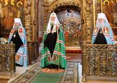 Слово Святейшего Патриарха Кирилла в неделю 2-ю по Пасхе, апостола Фомы, в Троице-Сергиевой лавре