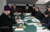 В Синодальном отделе по тюремному служению прошло первое заседание рабочей группы по образовательным программам для тюремных священнослужителей