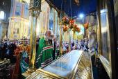 Святейший Патриарх Кирилл посетил Благовещенский кафедральный собор г. Харькова