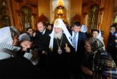 Завершилось пребывание Святейшего Патриарха Кирилла в Донецке