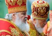 Слово Святейшего Патриарха Кирилла в неделю святых жен-мироносиц после Божественной литургии на площади Свободы г. Харькова