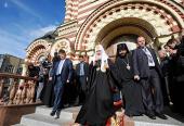 Завершился Первосвятительский визит Святейшего Патриарха Кирилла в Донецкую и Харьковскую епархии