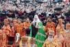 Первосвятительский визит в Донецкую и Харьковскую епархии. Божественная литургия на площади Свободы г. Харькова