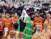 С 6 по 8 мая состоялся Первосвятительский визит Святейшего Патриарха Кирилла в Донецкую и Харьковскую епархии
