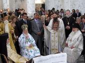 Архиепископ Истринский Арсений сослужил Патриарху Константинопольскому Варфоломею за Литургией в Каппадокии