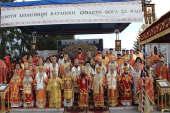Митрополит Волоколамский Иларион принял участие в торжествах в честь новомучеников Батакских