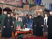 В Донском монастыре проходит семинар для атаманов казачьих обществ и священников, окормляющих казачьи общества Белоруссии