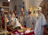 Митрополит Восточно-Американский и Нью-Йоркский Иларион совершил богослужение в четвертую годовщину подписания Акта о каноническом общении Московского Патриархата и Русской Зарубежной Церкви