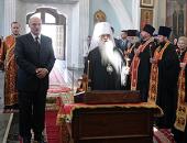 На 40-й день после теракта в минском метро митрополит Филарет совершил панихиду по погибшим