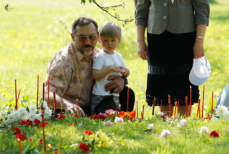 Патриаршее служение на Бутовском полигоне в день Собора новомучеников, в Бутове пострадавших