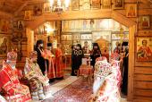 Святейший Патриарх Кирилл возглавил чин наречения архимандрита Серафима (Глушакова) во епископа Воскресенского, викария Московской епархии