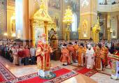 Предстоятель Русской Церкви возглавил хиротонию архимандрита Серафима (Глушакова) во епископа Воскресенского, викария Московской епархии